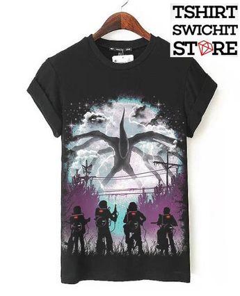 Camiseta - stranger things ( sob encomenda ) 4cf24401f55