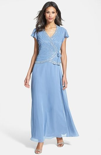 469ac38710b J Kara Embellished Mock Two-Piece Gown (Regular   Petite) available at