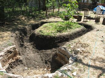pond liner ideas - Google Search