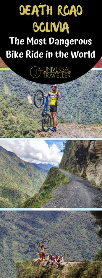Cycling The Most Dangerous Road in the World - Death Road Bolivia