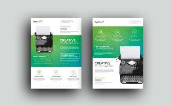 Dragon Elegant Premium Business Flyer Template - Graphic Templates