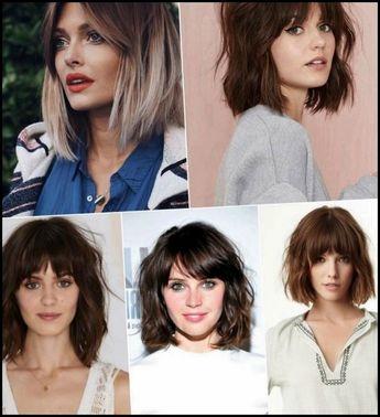 Haircut with bangs 2018
