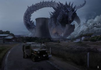 ArtStation - King of the monsters, Mike Szabados