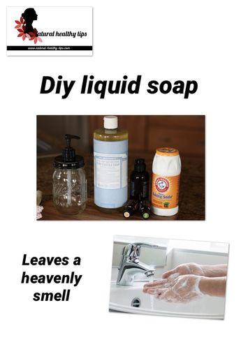 How to make homemade liquid dish soap