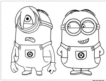 Minion Coloring Pages Free Printable Google Search