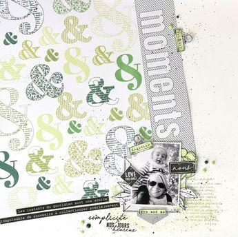 lescrapananat: DT Florilèges Design 3 pages