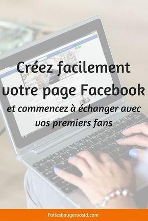 Créer facilement une page Facebook pour son entreprise