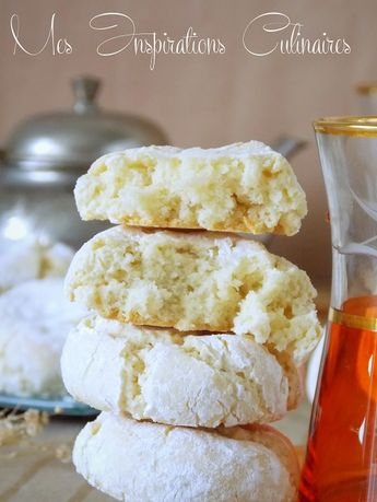 Biscuit amaretti moelleux