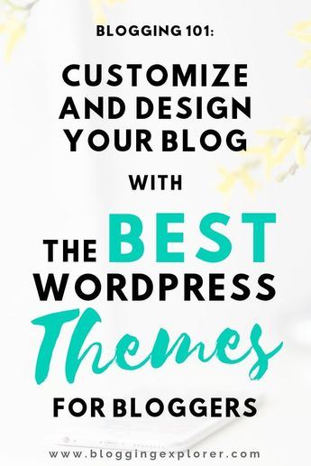 The Best WordPress Themes For Blogs 2019 (Free and Paid) - Wordpress Ecommerce Theme #ecommercetheme #wordpresstheme -   How can you find the best WordPress theme for your blog? These powerful and beginner-friendly WordPress themes and templates will help you start a successful blog the RIGHT way from the beginning. Learn how to find the best WordPress themes for your blog to help your blog grow and make money in the long run. Remember: choosing the right theme from day 1 will save you hundreds