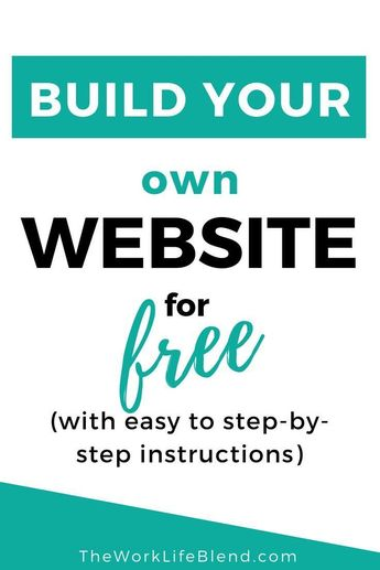 How To Make A Website With WordPress • The Work Life Blend - Make Money Around Your Family