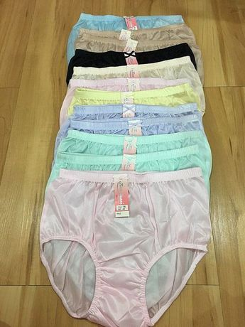 Vintage panties nylon12pcs lace lingeries knickers sheer briefs sissy size  xl 38aaafc27