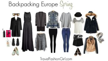 Backpacking in Europe this Spring? Here's your ultimate packing list!