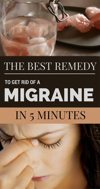 The Best Remedy to Get Rid of a Migraine in 5 Minutes | GetRemedies.net