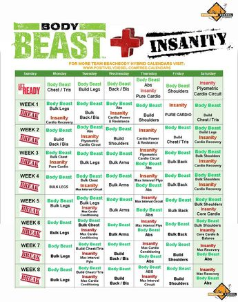 Which Body Beast Schedule is Right for You? Here you will