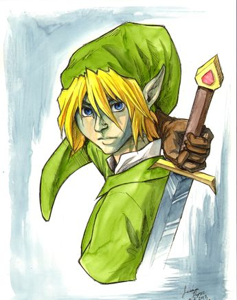 The Legend of Zelda Fan Art: Link & Friends