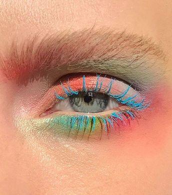15 exemples de maquillage pastel pour les yeux