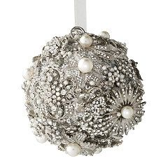 Bling Christmas ornament from Frontgate