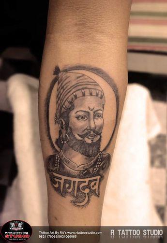 449d0d592 Chatrapati Shivaji Maharaj tattoo #shivajimaharajtattoo #jagdambtattoo  #maharajetatttoo #tattooartrits #rtattoostudio