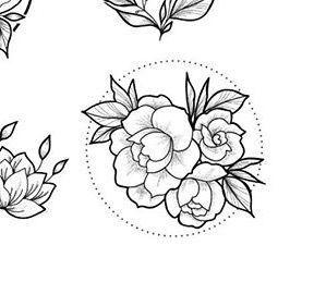 Desenhos de Flores +De 120 Modelos - Tatuagens Ideias