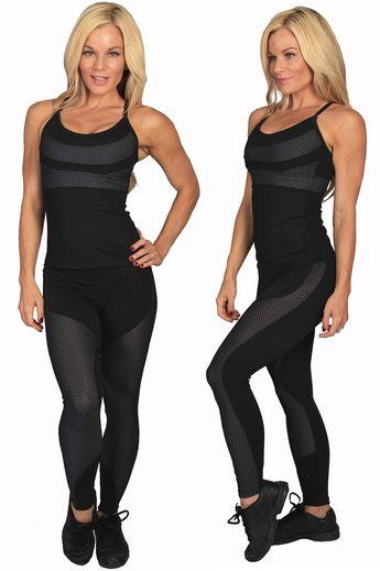 39655f550c0b Equilibrium Activewear L732 Women Brazilian Gym Workout Clothes