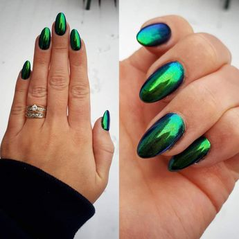 Chrome Nails Ideas & Inspo - Fall in love with sassy chromes