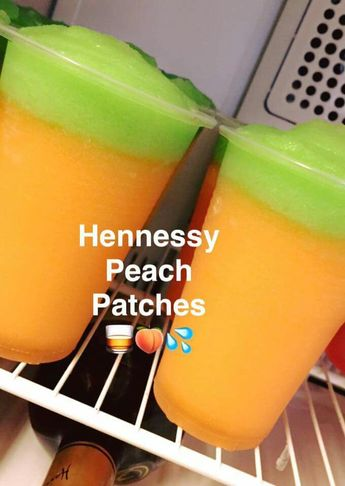 Henny and peach