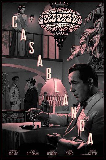 Rory Kurtz illustre ses propres affiches de cinéma www.langweiledich