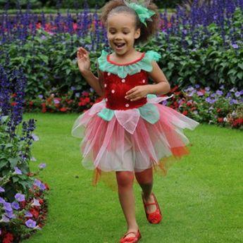 Strawberry Fairy Dress Costume