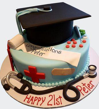 21st / Graduation Cake