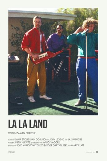 La La Land alternative movie postersPrints available