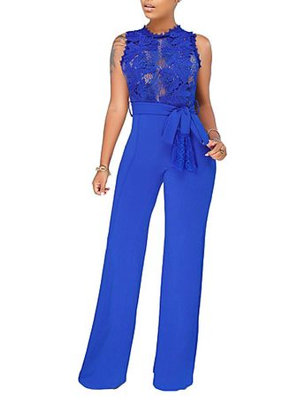 3ff7cc94be09   32.91  Women s Daily   Going out Basic   Street chic Blue Black Wine  Jumpsuit