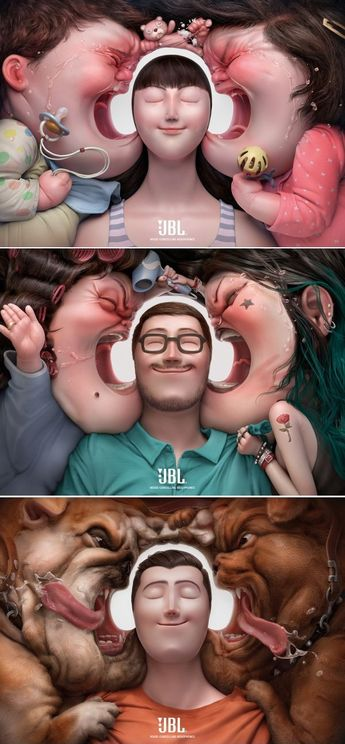 Coolest Earphone Ads Ever