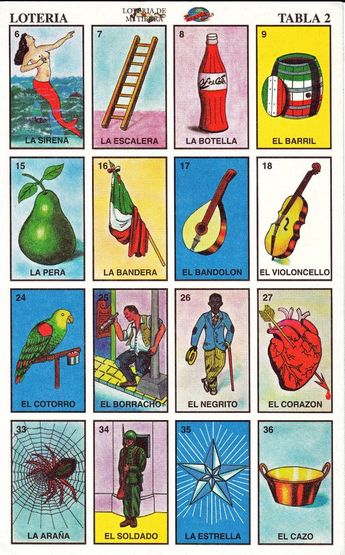 graphic regarding Loteria Cards Printable identify Que Chisme!: 3rd Once-a-year Loteria Fundraiser ~ Friday 3/25/11