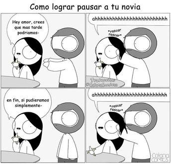 """3,227 Me gusta, 127 comentarios - Catana Comics en Español (@catanacomicss) en Instagram: """"Que te hagan cariñitos en la cabeza simplemente lo mejor del mundo.#catana #catanacomics…"""""""