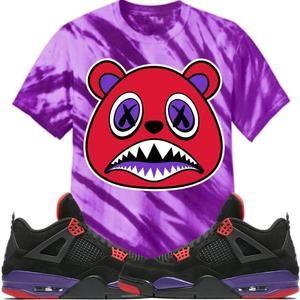 f9518664a2fa6c Baws T-Shirt RAPTOR BAWS Tiger Stripe Sneaker Tees Shirt - Jordan 4 Raptor