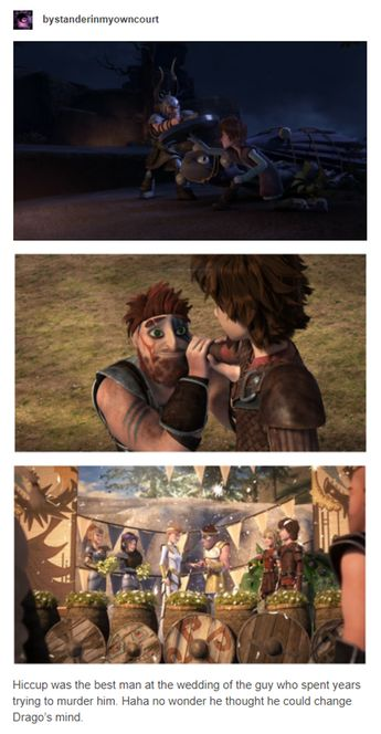 That end comment there really puts things in perspective - Hiccup & Dagur - Draggo - HTTYD2