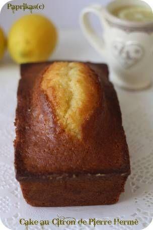 Cake au Citron de Pierre Hermé – Paprikas