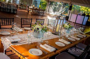 Reception at Glen Foerd- rustic tablescape  Faith West Photography, Philadelphia