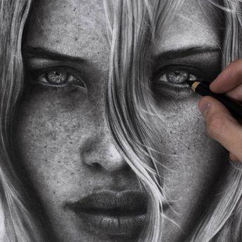 Arte em Preto e Branco (lápis) por Silvio Giannini