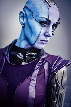 Deadliest Cosplayer in the Galaxy - Nebula