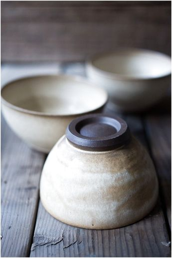 These beautiful ceramics are hand thrown and hand dipped by Seattle artist Sarah Steininger Leroux We love the matte glaze and neutral tones We only have a few of these in stock but were excited to #HomeStyling #Pottery #Ceramic click for info.