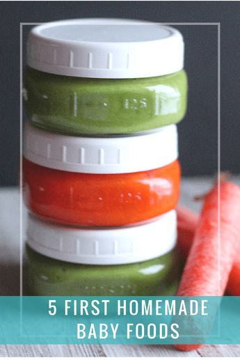 Looking for some homemade baby food recipes? This post is a great starter! You can save so much money making your own food, plus you know exactly what you're feeding your baby. via @DashOfEvans