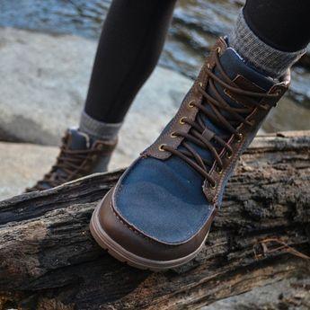 Lems Boulder Boot Navy Stout