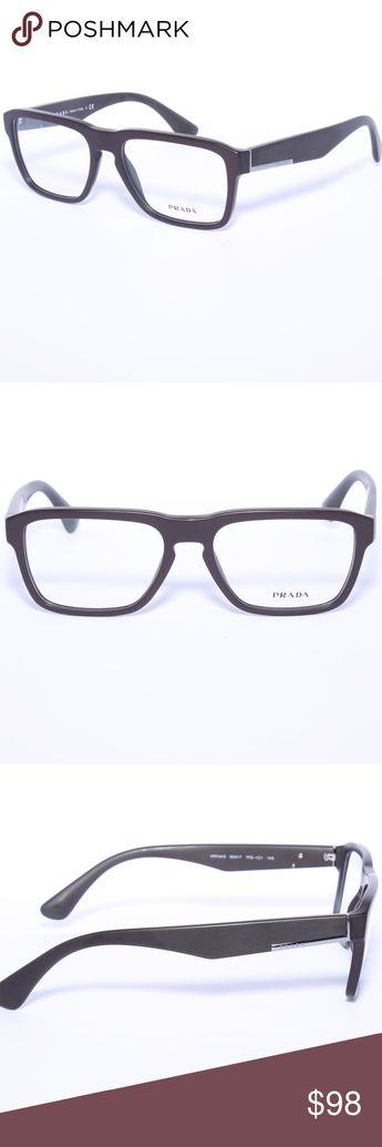 70dce74a535f Prada Eyeglasses VPR04S VPR-04S TFD-1O1 Brown Prada Eyeglasses VPR04S  VPR-04S