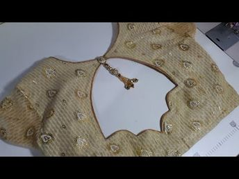 0a0b070392977 Very Beautiful And Very Easy Blouse Back Neck Design Cutting And Stitching  - YouTube