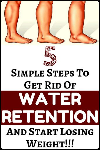 How to Get Rid of Water Retention and Lose Weight With 5 Simple Steps - amazing health and fitness and weight loss...!!!!