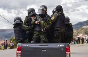 Polícia da Bolívia prende 33 juízes eleitorais por fraudes