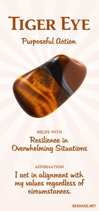 Tiger Eye Meaning and Properties