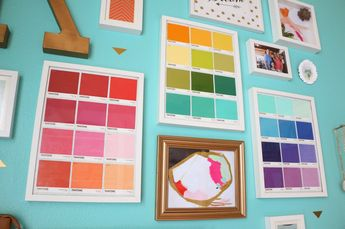 Gallery Wall Wednesday - The Kailo Chic Office