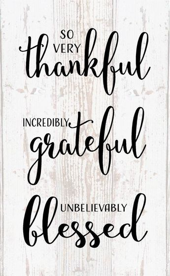 Thankful Grateful Blessed Wood Sign Canvas Inspirational Office Decor Bedroom Bathroom Thanksgiving Christmas